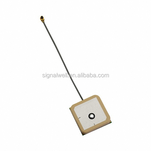 Passive GPS Antenna uFL/IPEX connector with 25mm x 25mm