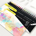 2018 Amazon hot Sell Calligraphy Water Color Brush Pen
