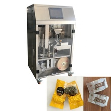 Vacuum tea bag packing machine with outer bag factory price