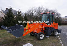 cheap 4WD small garden tractor with front end loader