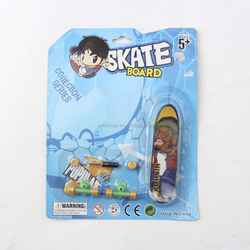 Plastic Mini Finger Skateboard Toys