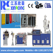 16mm~50mm PE PP PVC Single Wall Corrugated Pipe Extrusion Production Line