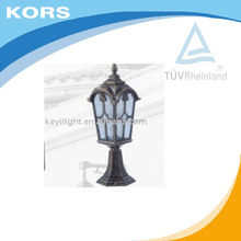 Ip54 Aluminium Die Casting outdoor stained glass house lamp outdoor garden light