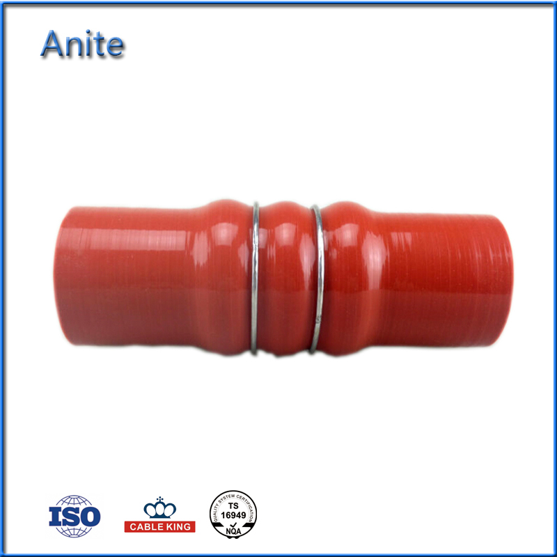 China Cheap Auto Silicone Reinforced Rubber Hose With Steel Wire