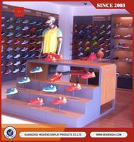 Wholesale shoe store display racks/ retail shoe rack display store