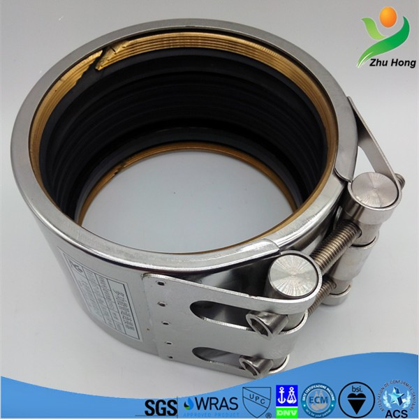 GF thin or thick wall pipes rigid plastic pipes round tube clamp leaking sealing repair clamp