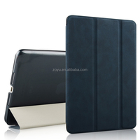 for ipad mini 2 case Luxury pu Leather Stand Cover +Matte Back Case
