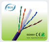 23AWG Solid Copper PVC/LSZH Jacket Cat6 UTP lan cable