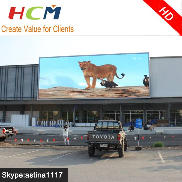 Full color LED Big Screen with Video function P8 P10 P16 LED Display Outdoor