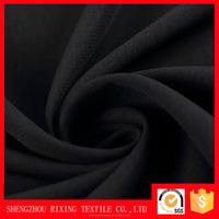 Woven 58'' 68'' 100% Polyester Georgette, Chiffon, Wool Peach Formal Black Korean Black Jet Black Abaya Fabric Material Textile