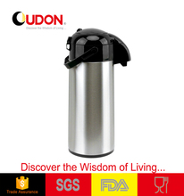 1.9L stainless steel and glass vacuum factory air pot