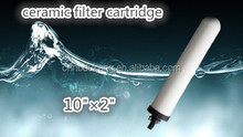 0.9 Micron porous ceramic water filter candle