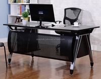 Hot sale furniture gaming desk,curved office computer desk table(SZ-DBT304)
