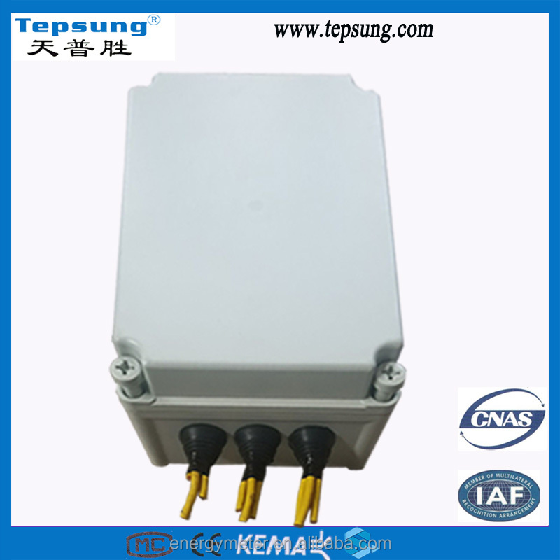 small Electrical electric electricity wire junction box for home use