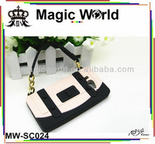 For iphone 4 handbags silicone case