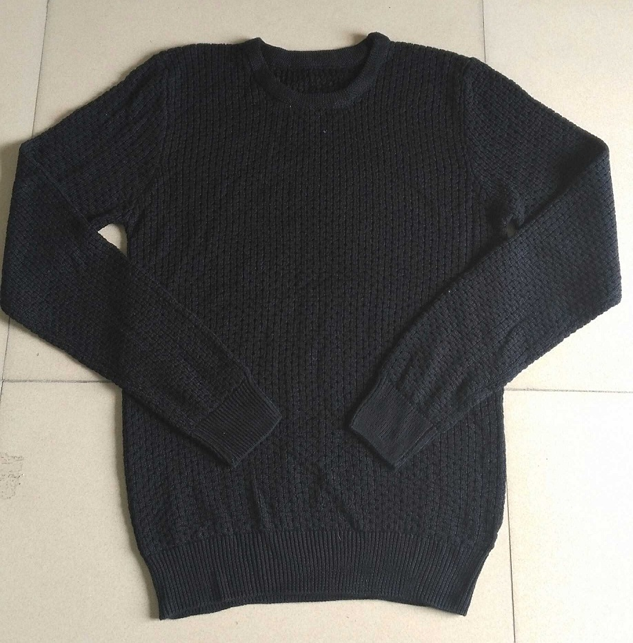 Closeout Apparel Of Crew Neck Pullover Sweaters For men Full Sleeve