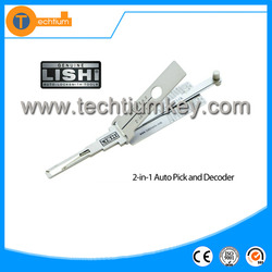 Original Wholesale Price lishi HU46 decoder Locksmith tools 2 in 1 car used for Buick