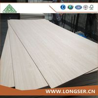 1220*2440mm 2.7mm red oak plywood for America