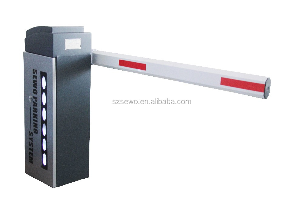 3s middle speed free paid vehicle entrance parking barrier gate