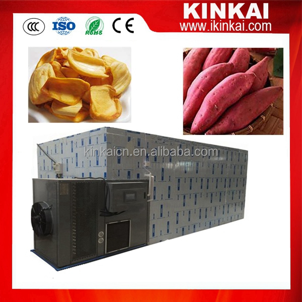 KINKAI potato heat pump dryer/sweet potato dryer price