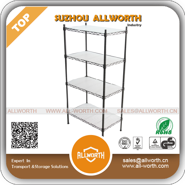 Metro Wire Rack Peak Medium Duty Chrome Shelving with Ledge