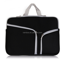 Neoprene Laptop Cover Bag Computer Notebook Sleeve 11-15 Inch for MacBook Pro/Air with A Small Case