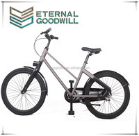 The latest model 24 inch inter 3 speeds aluminum frame city bike/bicycle EB5012B