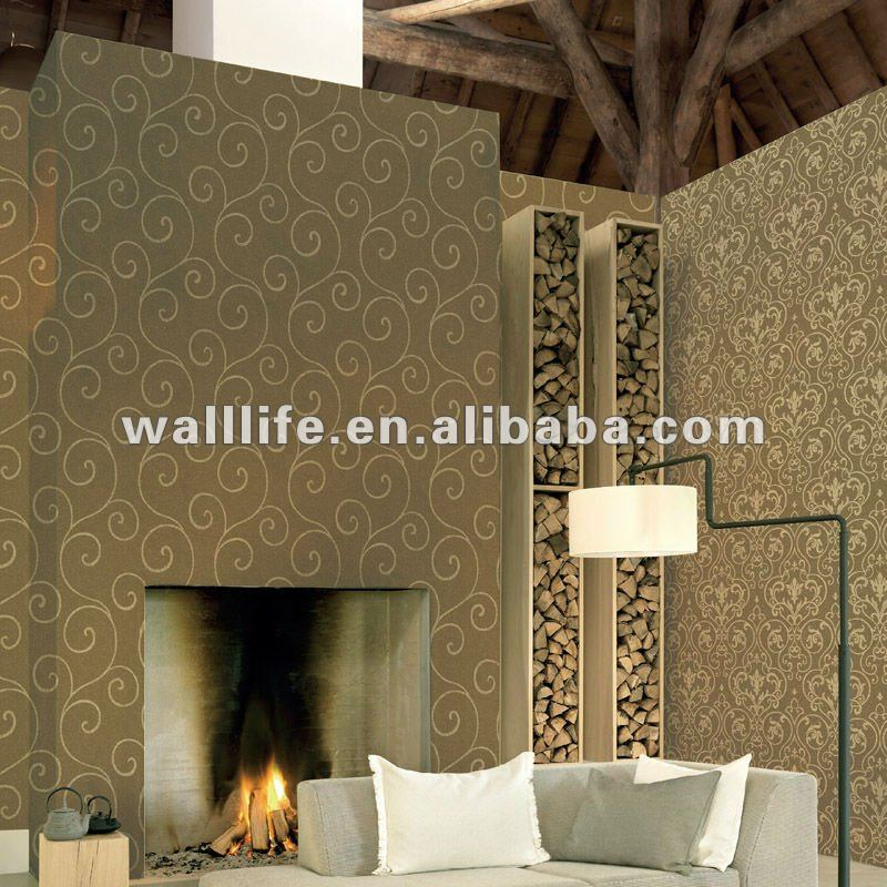 Latest design non-woven wall paper korean wallpaper /HA030205/[0.53m*10m]