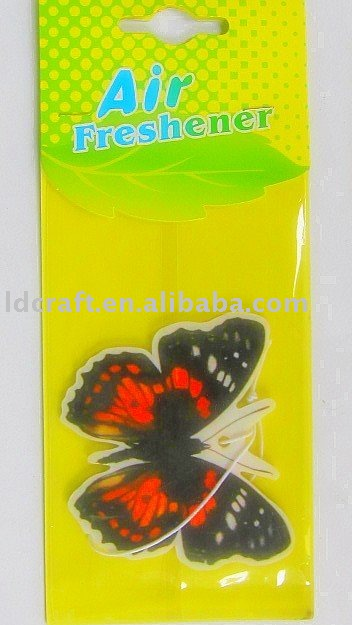 Auto paper air freshener, you can choose the fragrance you like