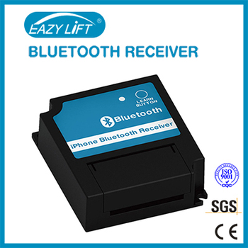 Automatic garage door opener access system bluetooth receiver