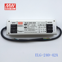 Meanwell 42V 240W led high bay light driver with UL CB CE TUV SAA ELG-240-42A