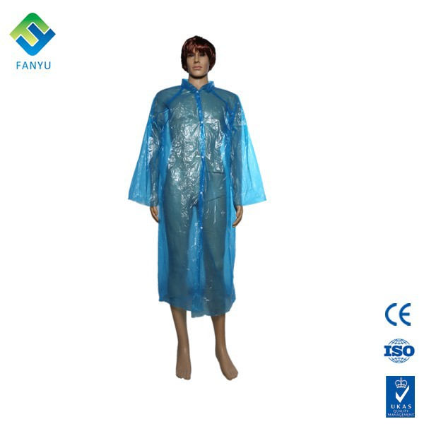 pe rain disposable poncho raincoat