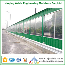 Vehicle Noise Reducing Sound Walls Highway for Noise Absorption