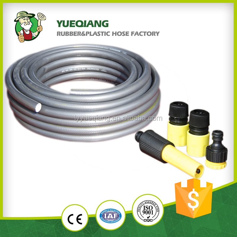 12mm best flexible cheap price shrinking garden hose with sprayer nozzle sets