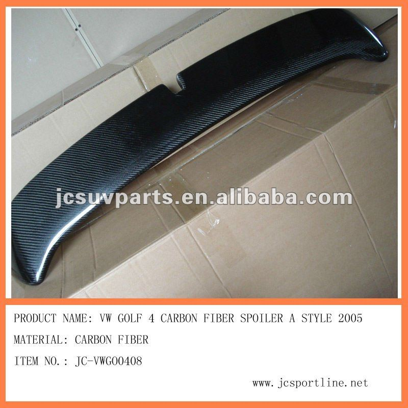 for vw golf 4 spoiler JC style 2003-2005