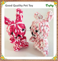 Shenzhen Pet products handmade cotton rope stuffed dog chew toy
