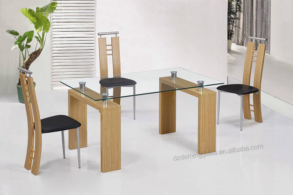 Bent Tempered Glass for Conference Table
