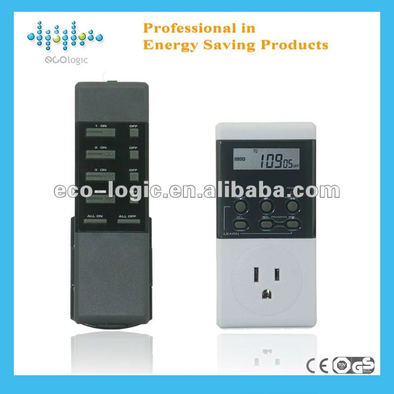 appliance energy saving timer with countdown alarm to control the appliances
