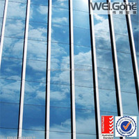 hot sale double pane tempered low-e glass with AS NZS 2208 certificate