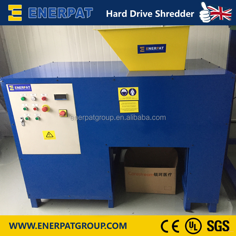Hard Drive Shredder/Waste Circuit Board Recycling Equipment /Automatic Ewaste Shredder Machine