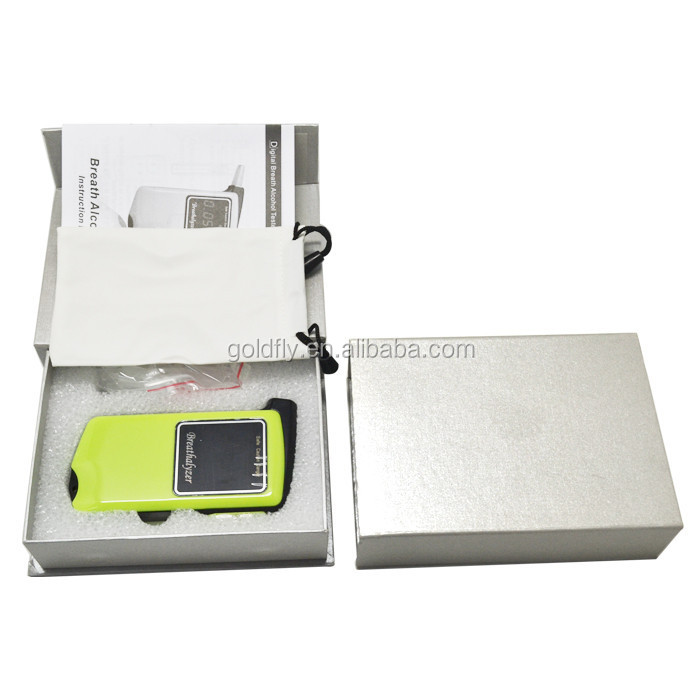 Personal Alcohol Tester with Replacement Mouthpiece Breathalyzer Gadget Roadway Safety at858