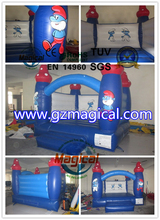 Newest fashion inflatable attractive kids adorable cartoon inflatable bouncer