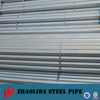 hot dipped galvanized steel pipe for water supply