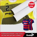 75g/80g fast dry dye sublimation transfer paper for t shirt printing
