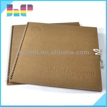 Office stationary spiral note book & custom journal book printing with company logo
