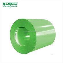 ASTM A792 ppgi coil ,mill promotion dx51d 1250mm width color RAL 9016 zinc 80g/m2 prepainted galvanized steel coil for metal roo
