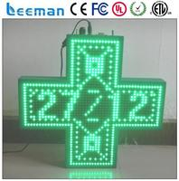 epoxide resin 3d led pharmacy cross display outdoor led pharmacy cross latest chinese product