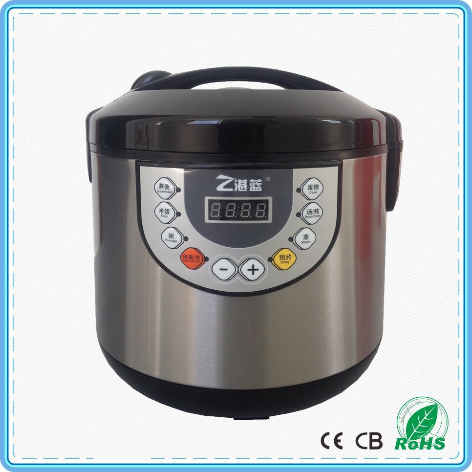 multi-function oval rice cooker