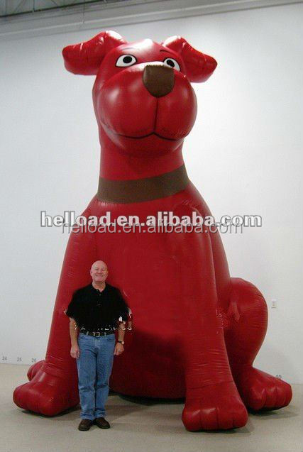 Inflatable dog model for outdoor event,Custom inflatable dog model