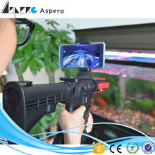 2017 Trending Product bluetooth Electronic submachine pretend play toy ar gun adult toy gun plastic toy gun safe